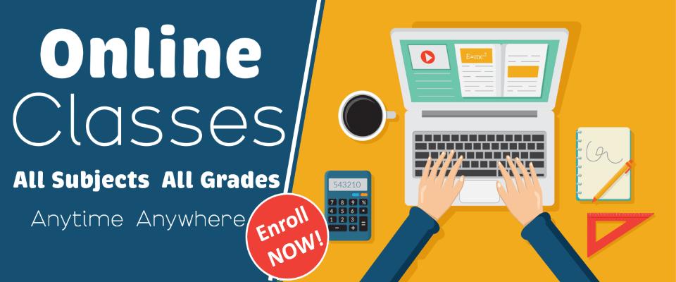 Online Classes Slider