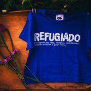 Camiseta refugiado yo elijo home