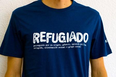 RefugiadO - Camiseta Azul