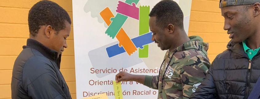servicio de asistencia accem discriminacion racial