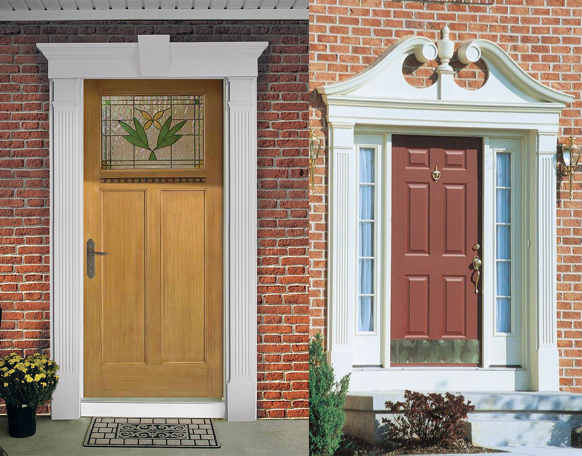 Awesome Exterior Window Trim Kits #13: Exterior Window Trim Kits. Surrounds Fypon Door Molding Amp Door Trim Accent Building Products