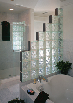 glass block photo gallery :: accent building products