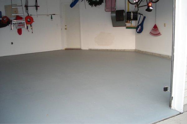 Garage Floor - AFTER