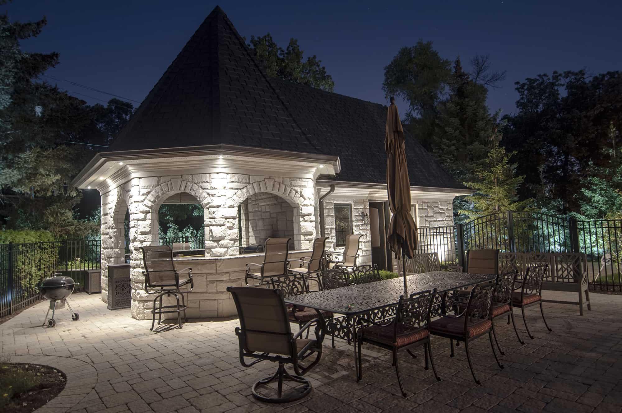 pavilions outdoor lighting
