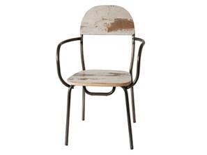 chaise de restaurant vintage