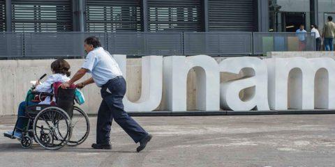 Personas con discapacidad en la UNAM