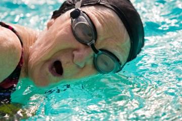 tercera edad natación