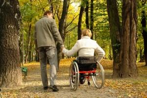 Pareja con discapacidad
