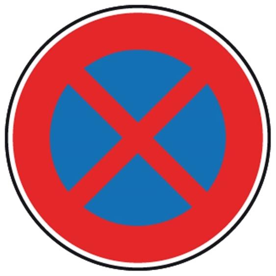 Panneau Arret Et Stationnement Interdit