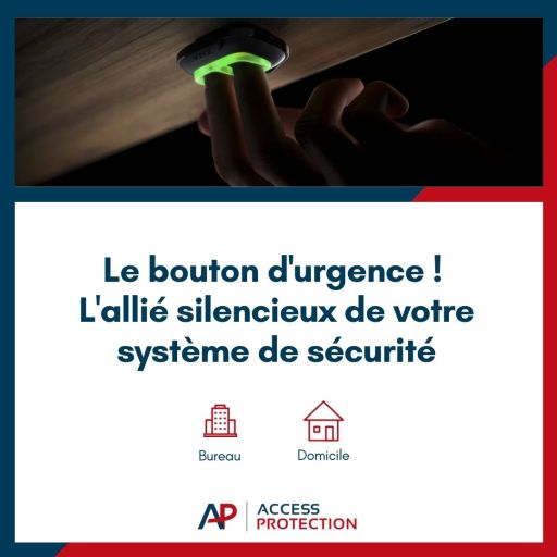 bouton d'urgence Access Protection