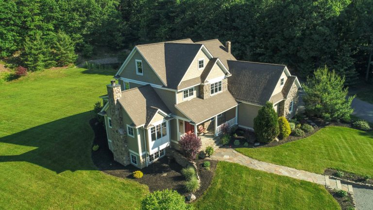 Real Estate Drone Photo - House