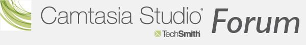 Camtasia Studio und SnagIt Forum