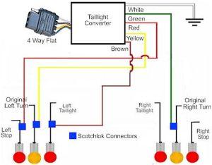 Tail Light Converter Wiring Diagram  11xje