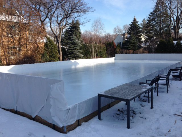Backyard Ice Rink Led Lights | Shelly Lighting