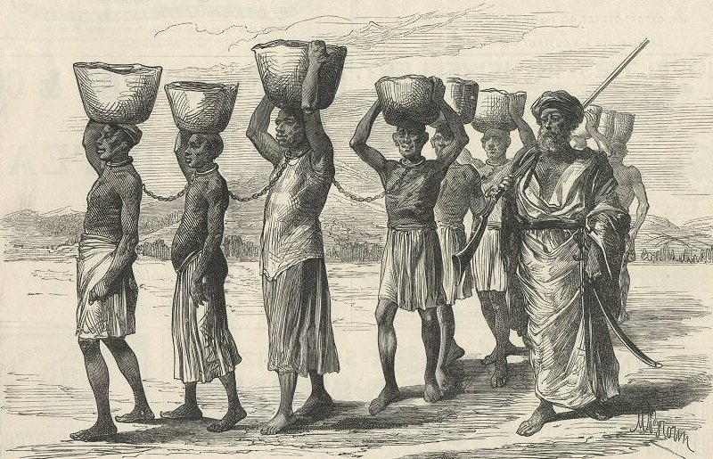Arab slave trade, black enslavement, Arab slavery