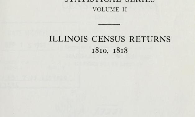 1818 Illinois State Census