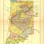 Indiana Land Cessions Map