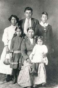 Okanagan Family Portrait
