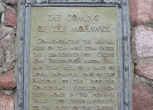 The Coming Of The Mohawks, Thendinaga Reservation, Ontario, Canada