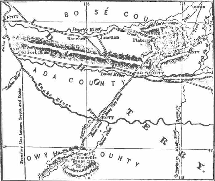 Early Settlement of Idaho