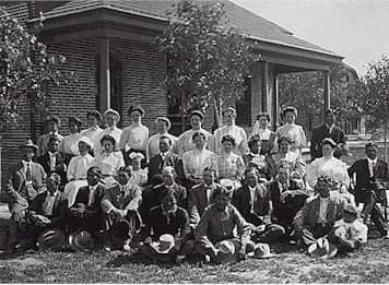 School employees at Albuquerque Indian School