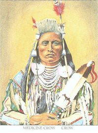 Chief Medicine Crow, Crow