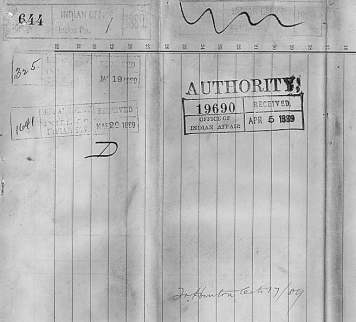 Page 1 of 1889 Mdewakanton Census