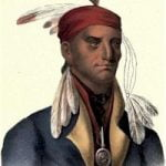 Shingaba W'Ossin, Chippewa Chief