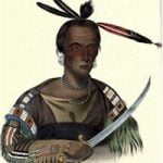 "Tokakon A Sioux Brave Signifies ""He that inflicts the first wound"""