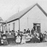 Wiley Homer, His People and Chapel at Grant, 1904