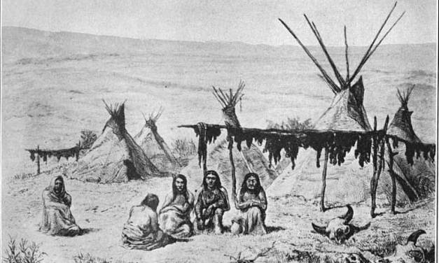 Houses of the Oglala Tribe