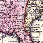 1703 Delisle Map of Florida