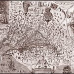 Smith's 1620 Map of the new Colony of Virginia