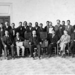 Choctaw Nation senate in 1898. Oklahoma Historical Society