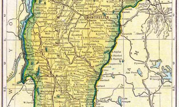 1910 Vermont Census Map