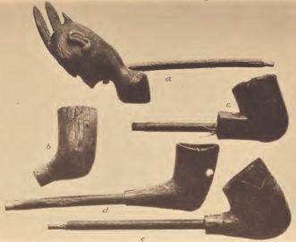 Pamunkey and Mattaponi wooden pipes