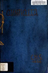 1924 Chanticleer Yearbook