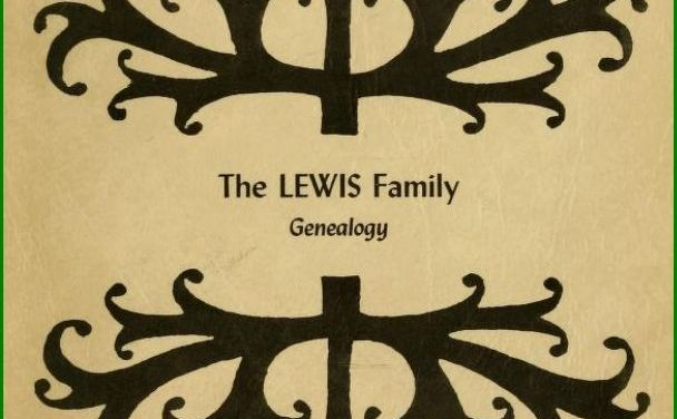 William Lewis Genealogy