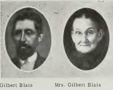 The Blais Family of Prairie du Rocher Illinois