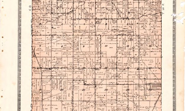 1921 Farmers' Directory of Oakfield Township