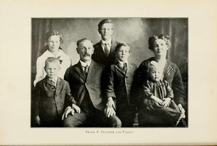 Frank F. Stauffer and Family