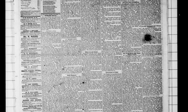 The Stillwater Messenger, 1861-1874