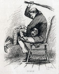 An original E.W. Kemble illustration from the first edition.