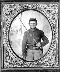 Union Soldier Miniature