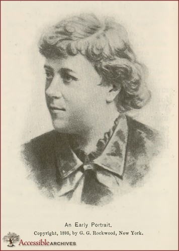 Elizabeth Cady Stanton, An Early Portrait