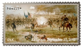Antietam Forever Stamp 1862