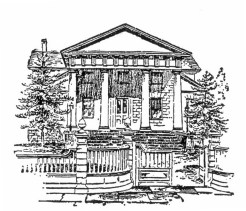 Redwood Library in Reminiscences of Newport