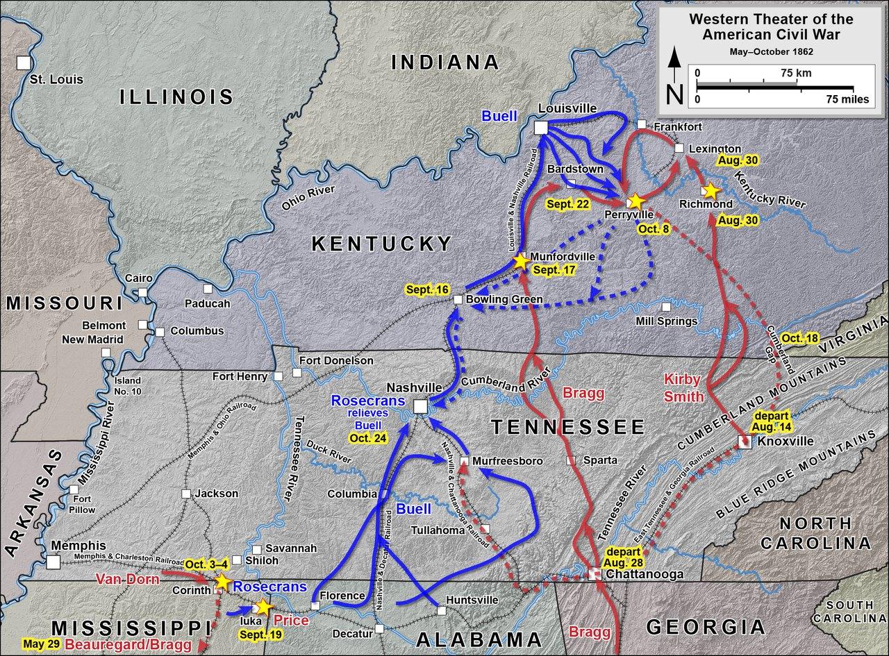 Bragg S Kentucky Campaign