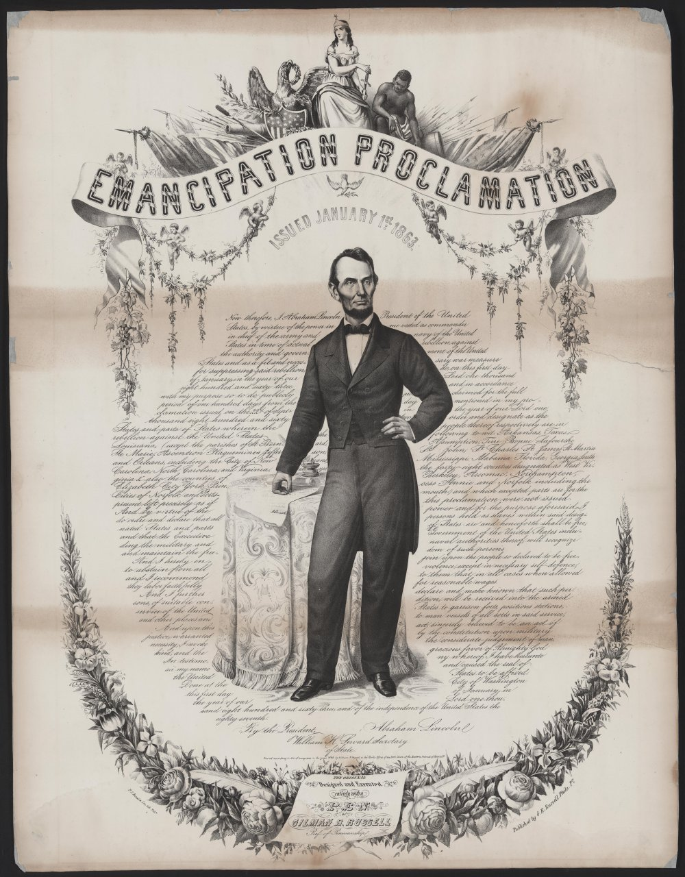 the emancipation proclamation as reported in the christian recorder the emancipation proclamation in the christian recorder