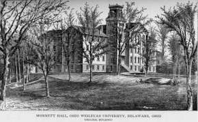 Monnett Hall, produced in the 1860s and published in 1911